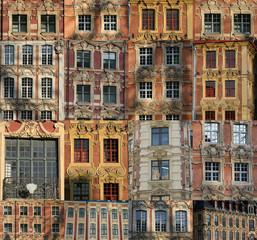 la ville de Lille dans le nord de la France