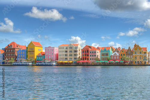 Wall mural Willemstad auf Curacao