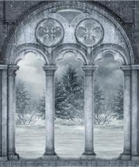 Fototapeta Sceneria zimowa 18 obraz