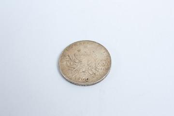 ancienne piece de monnaie en franc