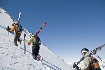 Aufstieg zum Gipfel des Kitzsteinhorns