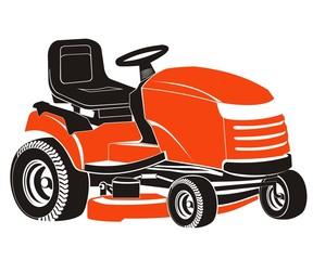 Fototapeta Traktor kosiarka obraz