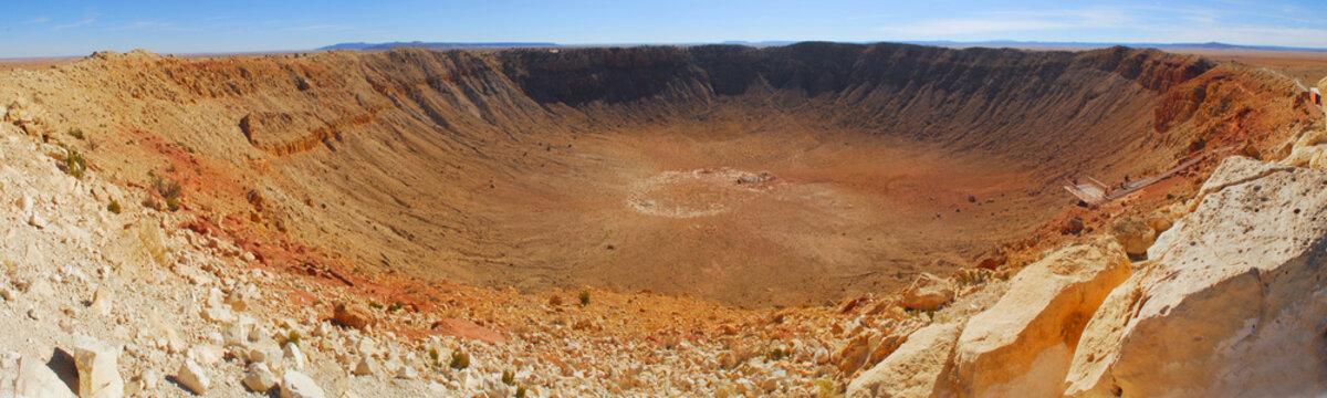 Meteor Crater in Winslow Arizona