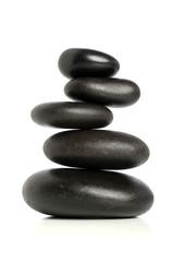 Five Black Stones