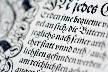 Historisches Dokument - Historic Document