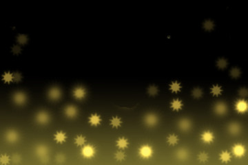 Beautiful celebratory background with bokeh in the form of stars