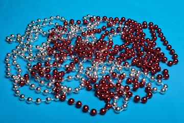 Beautiful, festive beads.