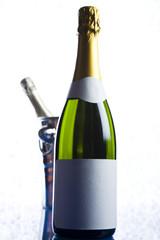Champagne, alcohol, bottle