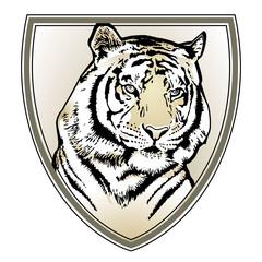 Tiger Wappen