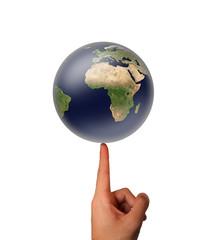 Terre en équilibre - concept environnemental