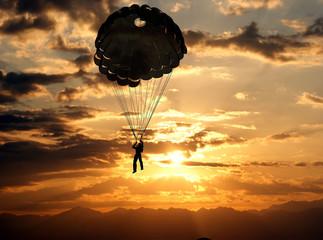Foto op Aluminium Luchtsport Sport is in sky