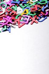 Letter alphabet