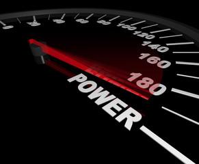 Power - Speedometer to the Max