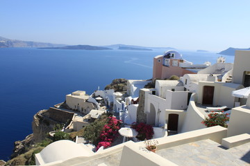 Village d'Oia à Santorin - Cyclades - Grèce
