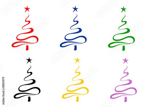 Alberi Di Natale Stilazati Immagini E Vettoriali Royalty Free Su
