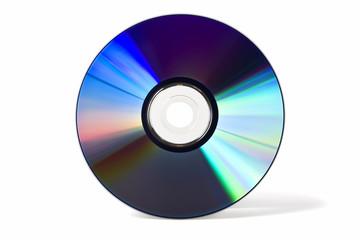 DVD/CD isoliert auf weiß