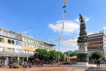 Das Monument zur Stadtgeschichte in Salzgitter