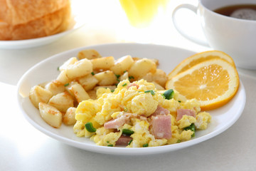 Scrambled Eggs and Ham
