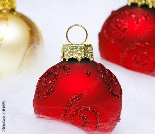 Weihnachtskugeln Rot Gold.Weihnachtskugeln Rot Gold Stock Photo And Royalty Free Images On