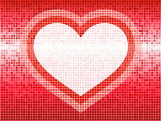 romantic hearts Valentine's Day design background