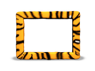 Tiger photo frame