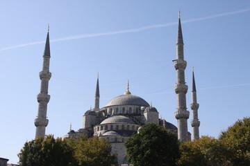 Sultan-Ahmed-Moschee in Istanbul - Türkei