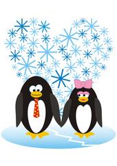 Enamoured penguins