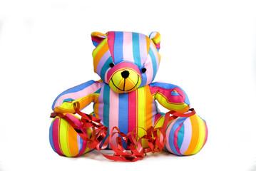 petit ours de couleur