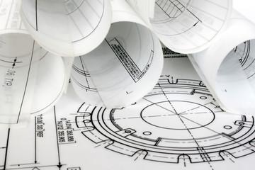 Rolls of Engineering Drawings.