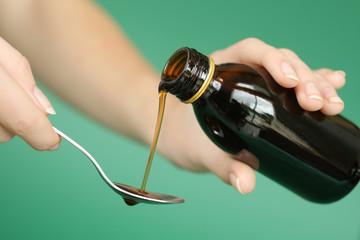 Sirop médicament pour la toux