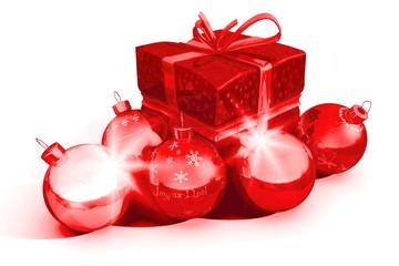 cadeaux et boules de noël 4