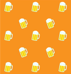 Backgrounds from beer mugs