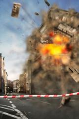 Explosion - Sprengung
