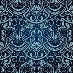Blue seamless wallpaper