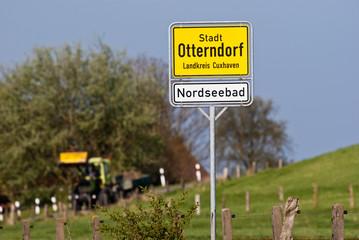 Am Deich von Otterndorf