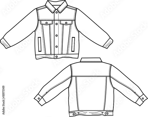 Boy Denim Jackets Stock Image And Royalty Free Vector Files On