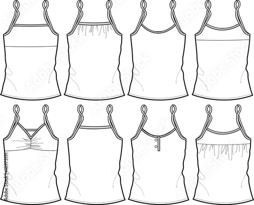 lady vest template stock image and royalty free vector files on
