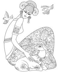 Aries or Ram Twelve Zodiac