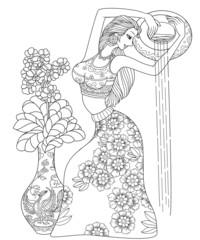 Aquarius or Water Carrier Twelve Zodiac