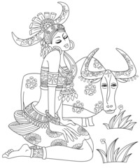 Taurus or Bull Twelve Zodiac