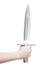 isolated knife