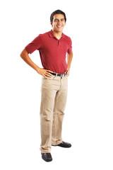 Teenage Boy in Uniform