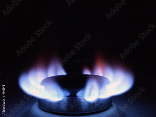 Fog n de gas natural encendido fotos de archivo e for Imagenes de gas natural