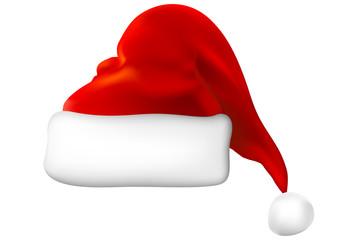 vector santa hat