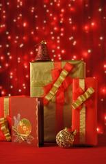 Christmas Presents and Greeting Card