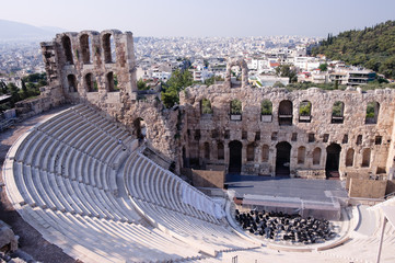 Ancient Odeum of Acropolis