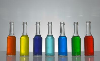 Rangée de bouteille