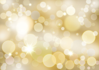 Crystal gold background