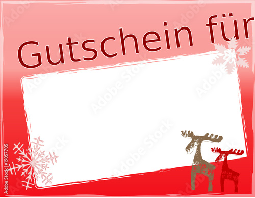 gutschein weihnachten rot stockfotos und lizenzfreie vektoren auf bild 19057705. Black Bedroom Furniture Sets. Home Design Ideas