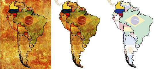 columbia flag territory